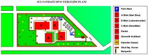 sultandağı myo yerleşim planı